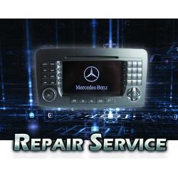 Technical Service Mercedes Comand NTG2 ML W164 DVD Repair
