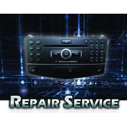 Technical Service Mercedes NTG4 C-Class W204 DVD Repair