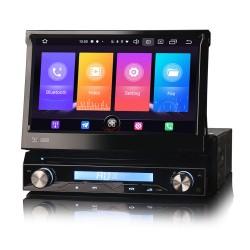 Universal 1DIN Car Stereo GPS FM CarPlay Android Auto...