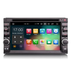 """Universal 1DIN Car Stereo 6.2"""" GPS FM CarPlay Android..."""