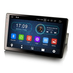 """Universal 1DIN Car Stereo 10.1"""" GPS FM Android Bluetooth..."""