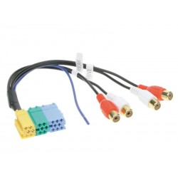 Mini ISO Pre Line Out Cable for Blaupunkt Grundig