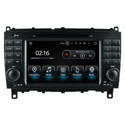 Radio CarPlay Android Auto Bluetooth USB Mercedes CLK W209