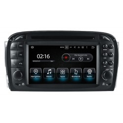 Radio CarPlay Android Auto Bluetooth USB Mercedes SL R230