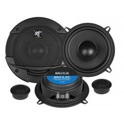 "Hifonics Brutus BRX5.2C 2-Way Component Speakers 5.25"" 13cm"