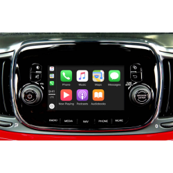 "CarPlay Android Auto Camera Fiat Uconnect 5"" 500 Doblo..."