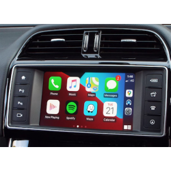 "CarPlay Android Auto Camera Jaguar InControl 8"" XE XF XJ..."