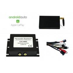 CarPlay Android Auto USB Camera Mercedes Comand 2.5 S CL...