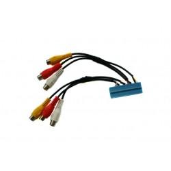 Video Input AV Cable Audi Volkswagen with TV Tuner