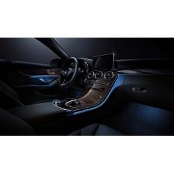 64 Color Mercedes Interior Ambient Led Light C Class GLC...