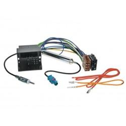 Quadlock ISO Connector + Antenna Adapter Audi A3 A4 TT