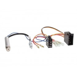 ISO Connector + Antenna Audi A2 A3 A4 A6 TT